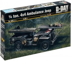 Ambulance Jeep 4x4 1/35