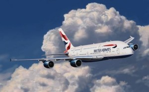 Airbus A380 British Airways EasyKit 1/288