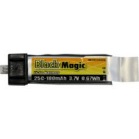 Akumulátor Black Magic LiPol 180mAh/3,7V 25C EFL    BMF25-0180-1EFL