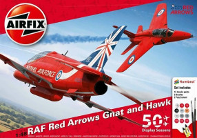 Red Arrows 50th Anniversary Gift set    1/48