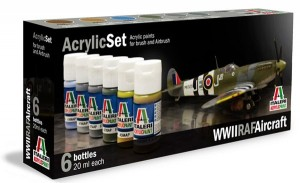 Acrylic Set WW2 RAF Aircraft