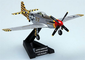 North American P-51D Mustang 319FS/325FG Italy 1945 1/72