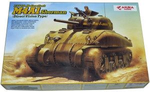 M4A1 Sherman Direct Vision Type 1/35
