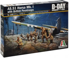 AS.51 Horsa Mk.I/II & British Paratroops     1/72