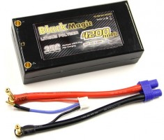 Akumulátor Black Magic Car LiPol 4200mAh/7,4V 35C EC3