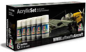 Sada farieb Acryl Set WW2 Luftwaffe Aircraft