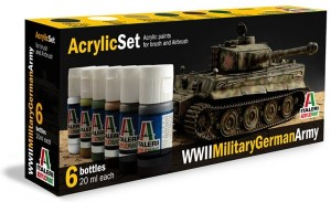 Acryl Set WW2 Military German Army