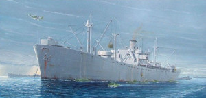 WW2 Liberty Ship S.S.H   1/350