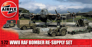 WWII Bomber Re-Supply Set   1/72