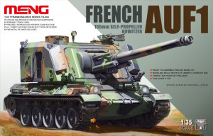 AUF1 155mm French Self-propelled Howitzer 1/35  TS-004