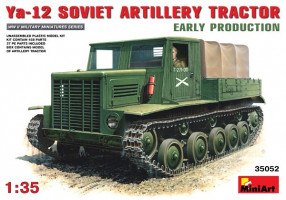 Ya-12 Soviet artillery tractor Early   1/35    MiniArt 35052