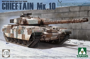 Chieftain Mk.10 British Main Battle Tank1/35 Takom 2028