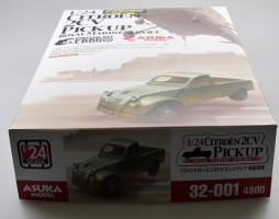 Citroen 2CV Pick-Up Royal Marine 1/24