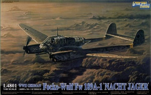 FW 189 A-1 Night Fighter 1/48 Great Wall Hobby 04801