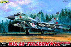 MiG-29 9-12 Fulcrum Early Type  1/48 Great Wall Hobby 04814