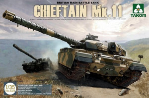 Chieftain Mk.11 British Main Battle Tank1/35 Takom 2026
