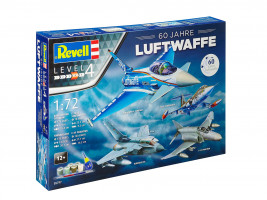 60th Anniversary German Luftwaffe Gift-set 1/72