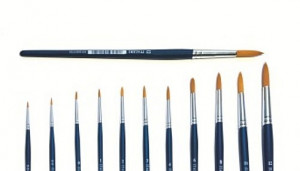 Štetec Italeri Round Brush 1 Synthetic