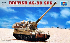 AS-90 British Self-Propelled Howitzer 1/72