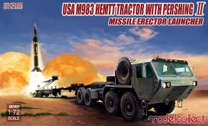 M983 HEMTT Tractor with Pershing II 1/72  Model Collect UA72077