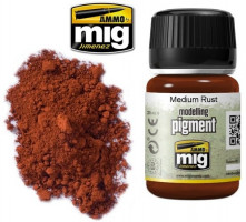 Patinovací pigment MIG Medium Rust - Hrdza AMIG3005 35ml
