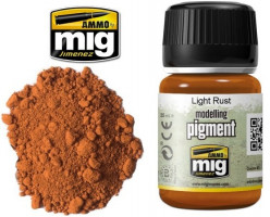 Patinovací pigment MIG Light Rust - Svetlá hrdza AMIG3006 35ml