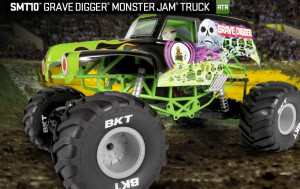 Axial RC SMT10 Grave Digger Monster Jam 4WD zelený 1/10 RTR