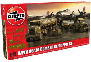 USAAF 8TH Airforce Bomber Resupply Set  1/72