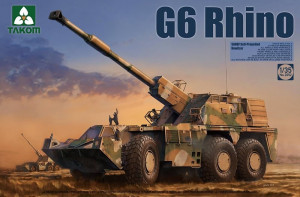 G6 Rhino SANDF Self-Propelled Howitzer 1/35  Takom 2052