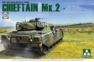 Chieftain Mk.2 British Main Battle Tank 1/35