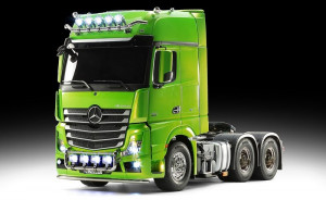 Tamiya RC MB Actros 3363 zelený Full Option 1/14 RTR