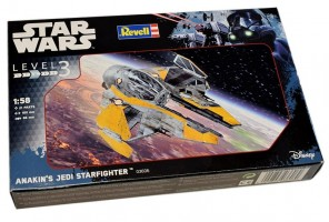 Anakin's Jedi Starfighter Star Wars   1/58