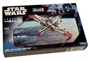 ARC-170 Fighter Star Wars    1/83