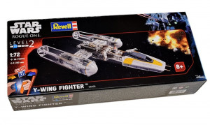 Y-Wing Fighter Star Wars Easy Kit  1/72