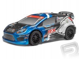 HPI RC Maverick Strada RX Rally Car 4WD modré 1/10 RTR
