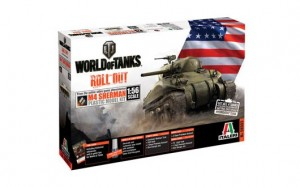 M4 Sherman + WoT CD  World of Tanks limited edition 1/56