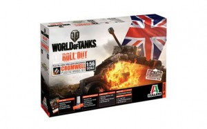 Cromwell + WoT CD  World of Tanks limited edition 1/56
