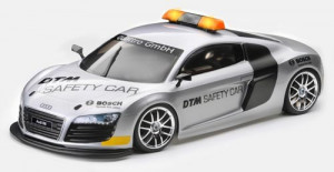 Karoséria Audi R8 Safety Car nenafarbená 1/10