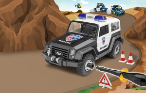 Police Offroad Vehicle Junior Kit  1/20