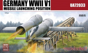 V1 Missile in launching position   1/72