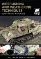 Airbrush and Weathering Technics publikácia Vallejo angl. jazyk