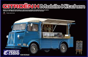 Citroen H mobile Kitchen 1/24 EBBRO