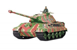 AMEWI RC Pz.Kpfw. VI King Tiger kamufláž 1/16 RTR BB QC