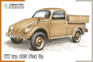"VW type 825 \""Pick Up\\"" 1/35  Special Hobby"