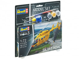 Bk-117 ADAC   Model Set 1/72
