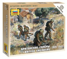 British engineers  WWII 1/72
