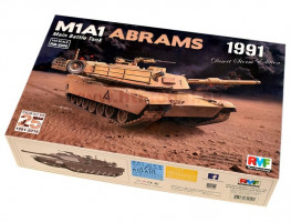 M1A1 Abrams Gulf War 1991 1/35 Rye Field Model