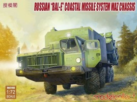 Bal-E Mobile Coastal Defense Missile Launcher + Kh-35 1/72 MC