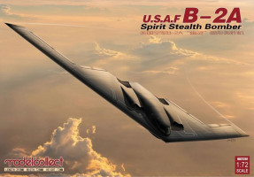 B-2A Spirit Stealth Bomber  1/72 Model Collect