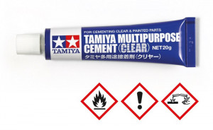 Lepidlo Tamiya Multipurpose Cement Clear 20g